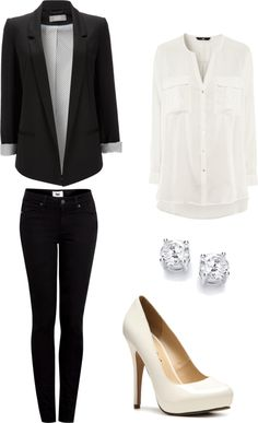 """Formal Outfit"" by ashtonwilson09 on Polyvore good for interviews and such"