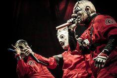 "Chris Fehn, Corey Taylor & Shawn ""Clown"" Crahan (Slipknot)"