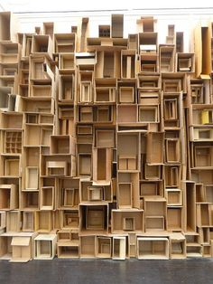 Artist: Nana Rosenørn Holland Bastrup - from now on, I will keep all my boxes