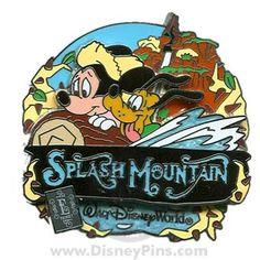 wdw splash mountain collector's pin