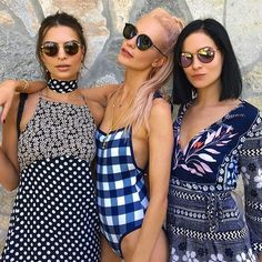Emily Ratajkowski, Poppy Delevingne, and Leigh Lezark