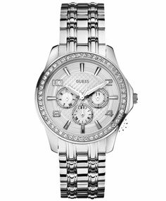 GUESS Multifunction Crystal Stainless Steel Bracelet Η τιμή μας: 177€ http://www.oroloi.gr/product_info.php?products_id=31733
