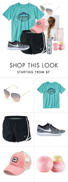 """Patagonia"" by nknudson-04 on Polyvore featuring Tahari, Patagonia, NIKE, Vineyard Vines, Eos and Kate Spade"