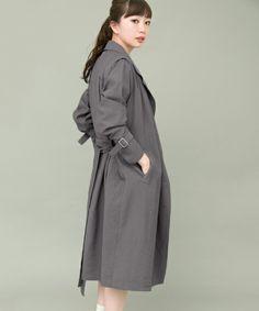 【ZOZOTOWN 送料無料】KBF+(ケービーエフプラス)のトレンチコート「KBF+ トレンチコート」(KP74-27T002)を購入できます。 High Neck Dress, Beige, Coat, Jackets, Clothes, Dresses, Fashion, Turtleneck Dress, Down Jackets