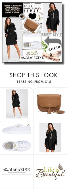 """""""contest"""" by bluedress-i ❤ liked on Polyvore featuring Tommy Hilfiger, Puma, Fountain and Wall Pops!"""