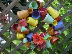 flower pot wreath - 2011 Secrets Gardens of Wauwatosa Tour r0xy121