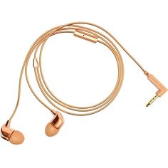 HAPPY PLUGS Rose-gold in-ear headphones ($55) ❤ liked on Polyvore featuring accessories, tech accessories, apple iphone headphones, ear bud headphone, rose gold headphones, iphone earbuds and apple iphone earbuds