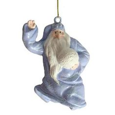 """Santa Claus Is Comin' To Town"" Winter Warlock Christmas Ornament"