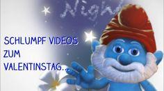 Valentinstag Schlumpf Video Card KOSTENLOS an die LIEBE senden