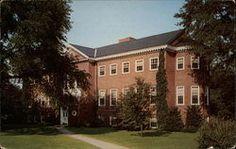 Joseph Henry Apple Library at Hood College Frederick Maryland Hood College, Frederick Maryland, Vintage Postcards, Joseph, Apple, Mansions, House Styles, Image, Vintage Travel Postcards