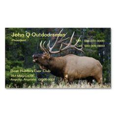 Elk Business Card Templates