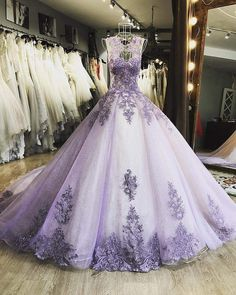 Elegant Tulle Prom Dress, Formal Ball Gown Prom Dresses, Appliques Evening Dress on Luulla Quince Dresses, 15 Dresses, Pretty Dresses, Fashion Dresses, Formal Dresses, Beaded Dresses, Best Prom Dresses, Necklines For Dresses, Fashion Top