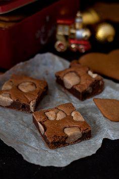 Blondie Brownies, Blondies, Christmas Recipes, Food Inspiration, Cookies, Chocolate, Winter, Desserts, Diy