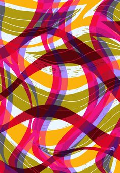 Try curves and lines in 1 directions on square block, rotate 90 and print again niew color.  continue for 4 prints