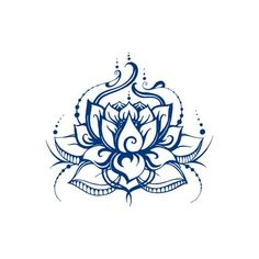 World Menagerie Lotus Flower Wall Decal Decal House Lotus Flower Wall Decal Color: Light Brown Polka Dot Wall Decals, Flower Wall Decals, Nursery Wall Decals, Vinyl Wall Decals, Lotus Tattoo, Mandala Tattoo, Hamsa Tattoo, Watercolor Flower, Inspirational Wall Decals