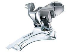 Shimano, 105 (FD-5700) framväxel, dubbel, silver i gruppen Racer/Cross / Komponenter / Växlar / Fram hos Cyclecomponents.com (SHI0779-r)
