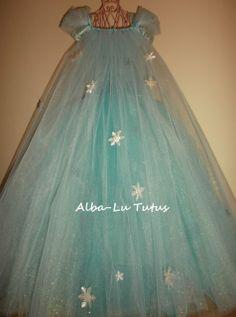 Elsa Inspired Frozen Tutu dress Party Birthday