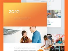 Zora - Behance Case Study by Balkan Brothers #Design Popular #Dribbble #shots