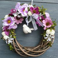 Decoration, Grapevine Wreath, Gift Baskets, Grape Vines, Baby Gifts, Living Room Decor, Vence, Easter, Wreaths