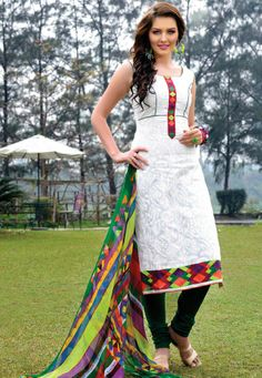 A beauty of women in Salwar Kameez