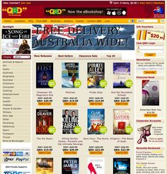 QBD are well known for their retail chain of book stores around the country. Today I've reviewed the store and it's new eBook download category.