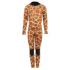 Full Length Wetsuit, Giraffe Print
