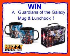 Guardians Of The Galaxy Lunch Box & Mug