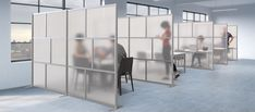 Modern Room Partitions for Dividing any space for any purpose. Translucent and opaque panels available in an assortment of colors. Office Dividers, Room Dividers, Room Partitions, Modern Room, Layout Design, Purpose, Custom Design, Space, Colors