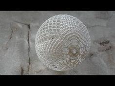 Crochet Ball, Knit Crochet, Knitting Paterns, Crochet Patterns, Christmas Ornaments, Youtube, Film, Crochet Crafts, Balls