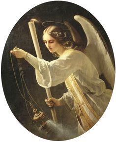 NEFF, Carl Timoleon von Russian (1804-1877)_Angel