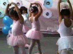 Stela-apresentação de ballet