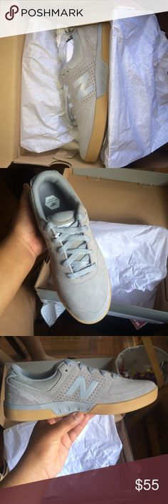 Brand NEW Balance Sneakers Limited Edition Numeric Haven't even been worn because they don't fit me,very comfortable and beautiful color. LIMITED EDITION. Grey with gum sole, as a gift I will add a pair of white laces brand new also New Balance Shoes Sneakers