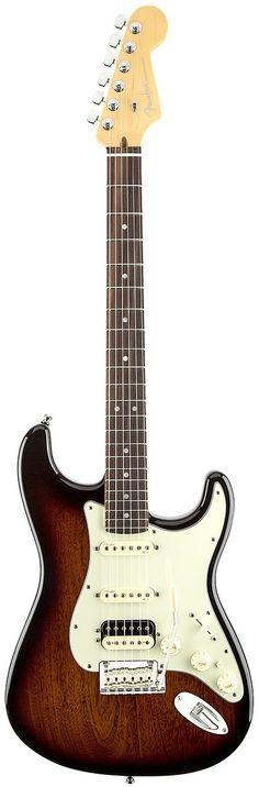 Apresentamos a Guitarra Fender American Deluxe Stratocaster HSS. Disponível na cor Mahogany Stain. Oferecendo o som mais puro e poderoso na configuração HSS.