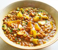Crockpot Barley Lentil Soup: veggie rich, hearty, satisfying, but not heavy, perfect winter meal