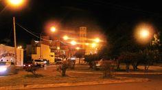 Linda noche en la ciudad -  Rawson Chubut Argentina.-