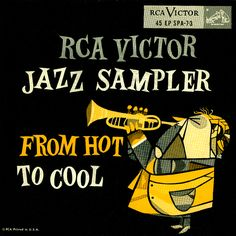 'From Hot to Cool' Jazz Sampler from RCA Victor.