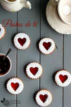 Frambuesa y Caramelo: Pastas de te