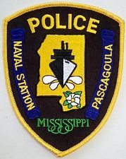 Pascagoula Mississippi Naval Station Police patch