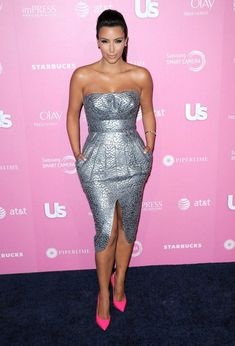 http://allforfashiondesign.com/the-best-of-kim-kardashian/  Maybe for a business related party... I love this look though!!!
