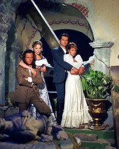 Corazón Salvaje 1993: Mónica y Juan del Diablo con Andrés y Aimée
