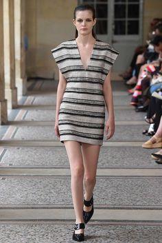 Bouchra Jarrar Fall 2015 Couture Fashion Show - Zlata Mangafic