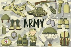 Army Pack - Illustrations