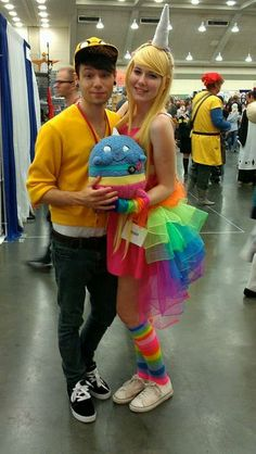 jake + rainicorn couples halloween costume!