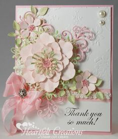 Thanks so much #card by Emma Lou with Heartfelt Creations #WeeklyScrapper