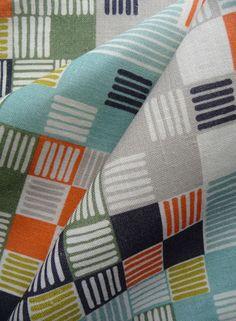 Minuet Fabric Multicolour @ Imogen Heath