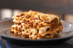 Making lasagna has never been easier! Good recipe to build on and just tweak it to make it more traditional food friendly.