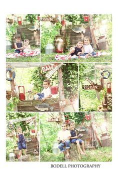 Bodell photography: gone fishin: may themed mini sessions. Photo Session Ideas   Props   Prop   Child Photography   Clothing Inspiration  Fashion   Pose Idea   Poses   Fishing   Boys   Family   Brothers