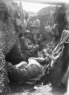LA GUERRE DES TRANCHEES….1914-1918…SUITE. | kleber dupuy et le fort de souville-verdun 1916