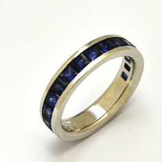 ordermade ring,blue sapphire(square),platinum,  http://www.concept-jw.jp/works_ring/works_ring_61.html