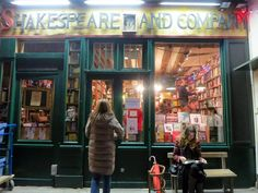 I #ReadEverywhere! For example: In Paris, at Shakespeare and Company.